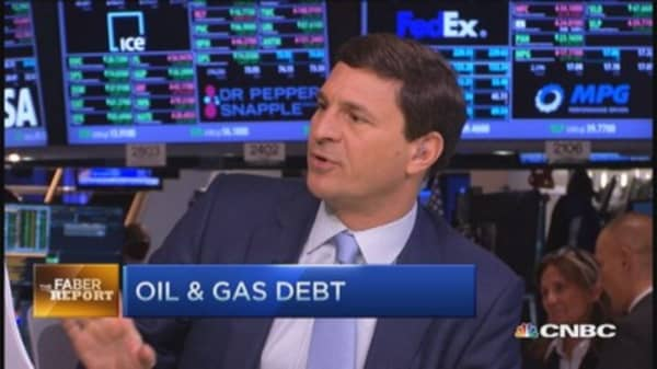Faber Report: Oil & gas debt