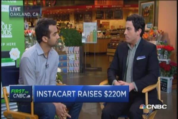 Instacart CEO: Shop at the stores you love