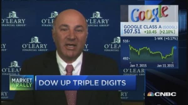 Mr. Wonderful: Google needs to pay Daddy now