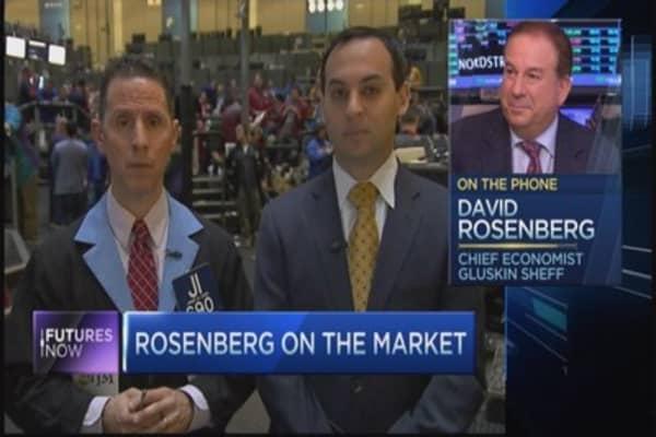 David Rosenberg on oil/stocks relationship