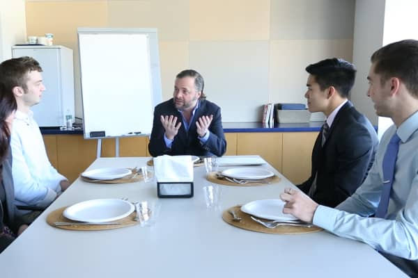 Turney Duff's master class in Wall Street business dinners