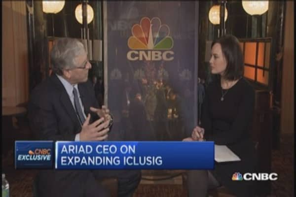 Ariad CEO: Expanding Iclusig