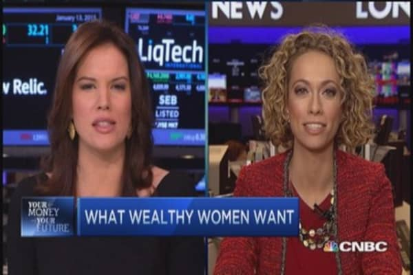 Wealthy women use advisors, but most aren't happy with them