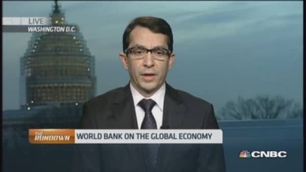 World Bank: 'Cautiously optimistic about recovery'