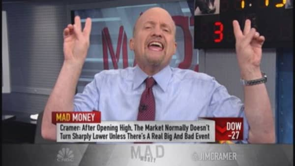 Cramer: Ecstasy & agony in one session