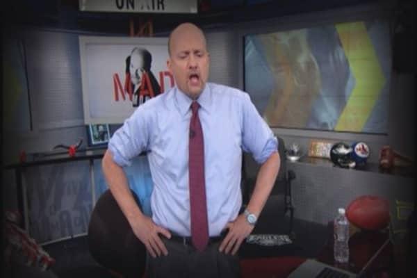 Cramer: The MVPs of today's market