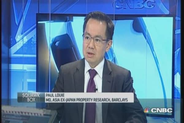 HK property woes need time to resolve: Barclays