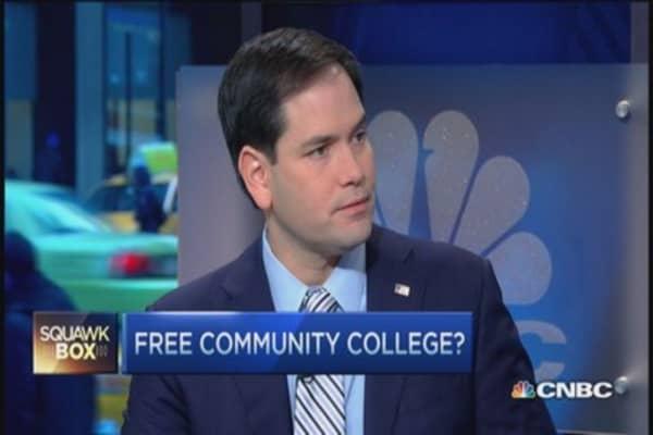 Sen. Rubio: High hopes for education