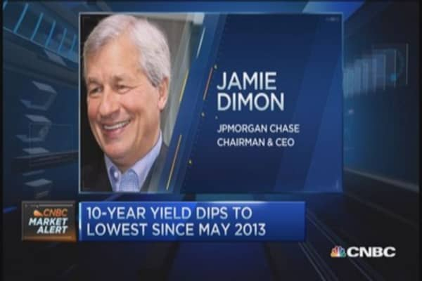 JPM's Dimon: Can't fight govt. if break up their intent