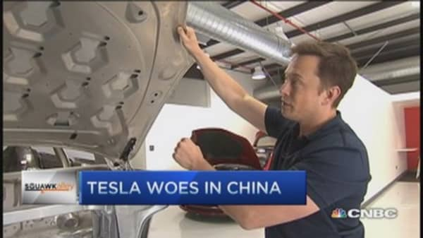 Tesla's Musk: China woes will correct later this year