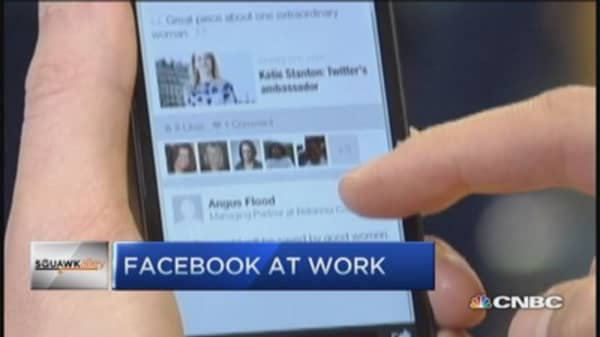 Facebook At Work unveiled