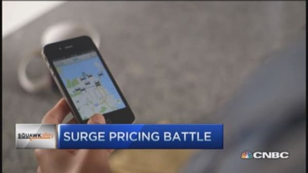 Surge pricing battle brewing?