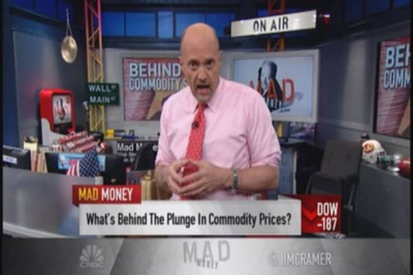 Cramer: Get used to commodities dislocation