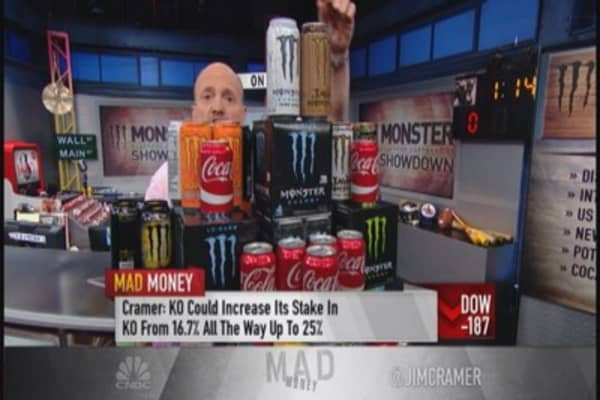 Can Monster keep chugging higher?