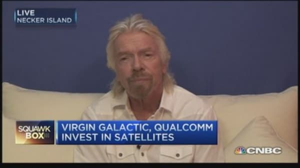 Richard Branson's plan to connect the world