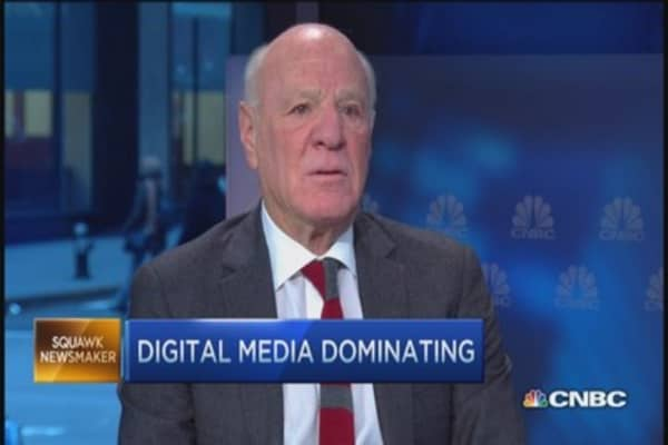 It's not your mother's media anymore: Barry Diller