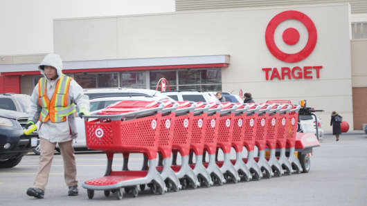 A Target store in Toronto last November.