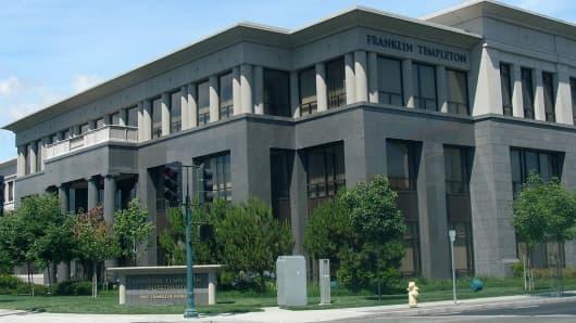 Franklin Templeton headquarters in San Mateo, California.
