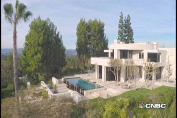 Most expensive house (we could get into): Encino, Calif.