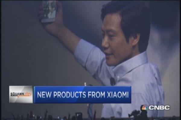 Xiaomi takes on Apple