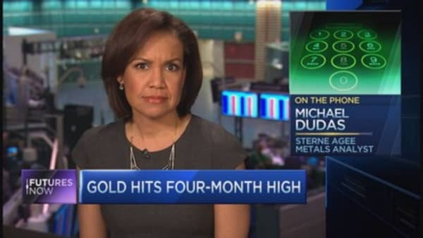 Sterne Agee's Dudas: Gold going to $1,400