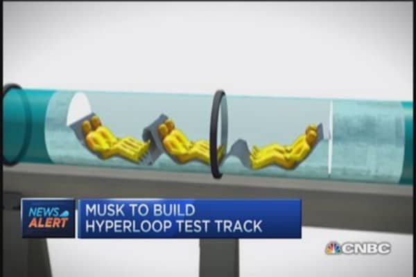 Texas likely site for Hyperloop test track