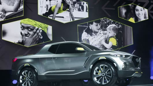 Hyundai Santa Cruz concept Detroit Auto Show