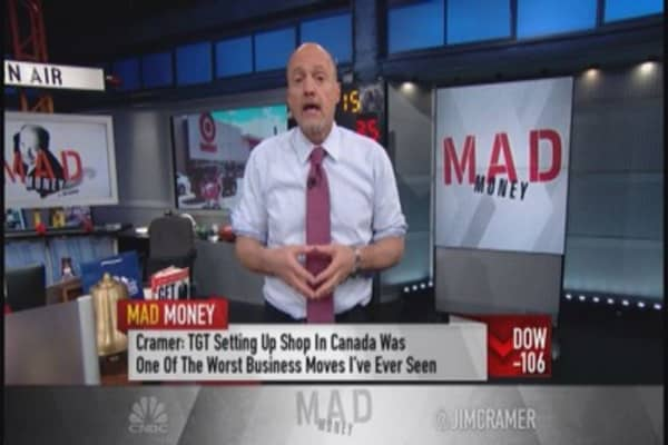 Cramer: What to do with Target's stock