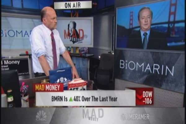 BioMarin CEO: Vimizim launch better than anticipated