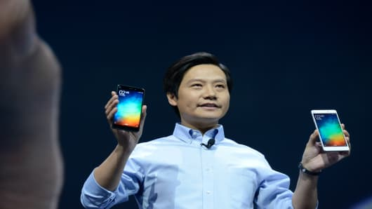 Chinese billionaire Lei Jun: founder, chairman and CEO of Xiaomi