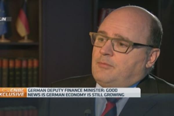 Germany might raise GDP outlook: Dep Fin Min