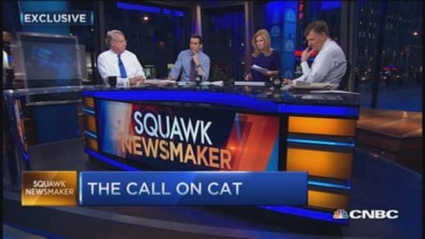 Jim Chanos' short call on CAT