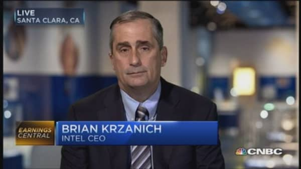 Intel CEO:  Flatish year for PC business