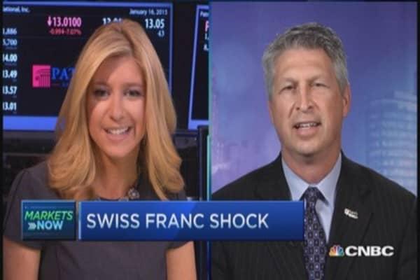 Swiss franc ripple effect