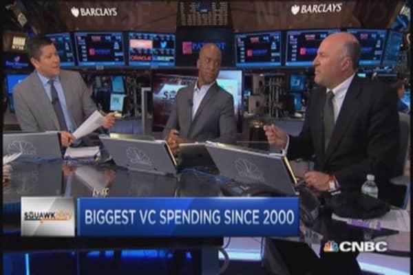 Venture capital's generous year