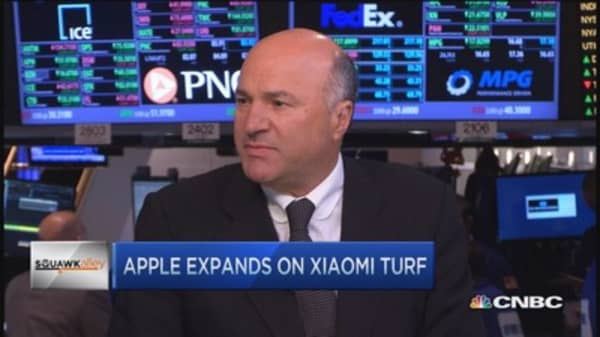 Why I'm not overweight Apple: O'Leary