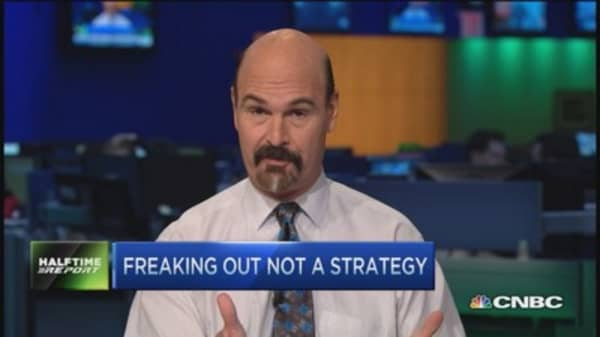 Freaking out is not a strategy