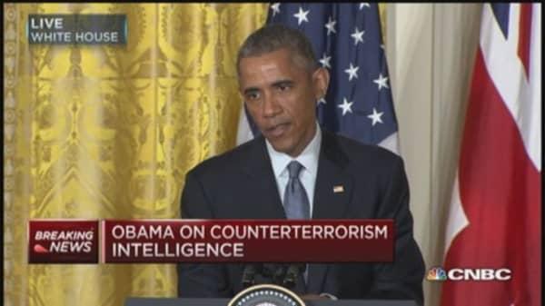 Pres. Obama: Terrorists good at social media