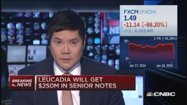 Leucadia inks $300 million FXCM deal