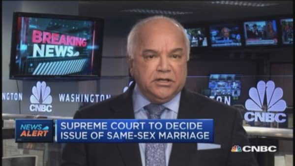 Supreme Court to decide issue of same-sex marriage