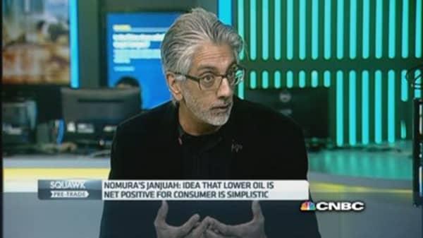 Oil price will fall to $30-35: Nomura's Janjuah