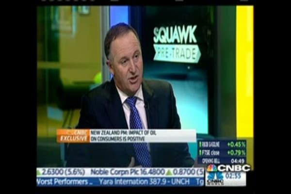 New Zealand PM on ECB QE: Only so far it will take you