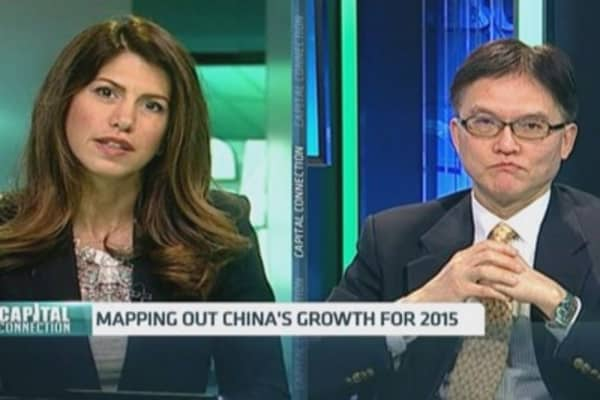 Looking ahead to Beijing's 2015 growth target