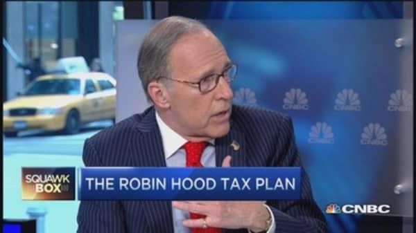 Tax reform? Priority #1 - slash corporate taxes: Kudlow