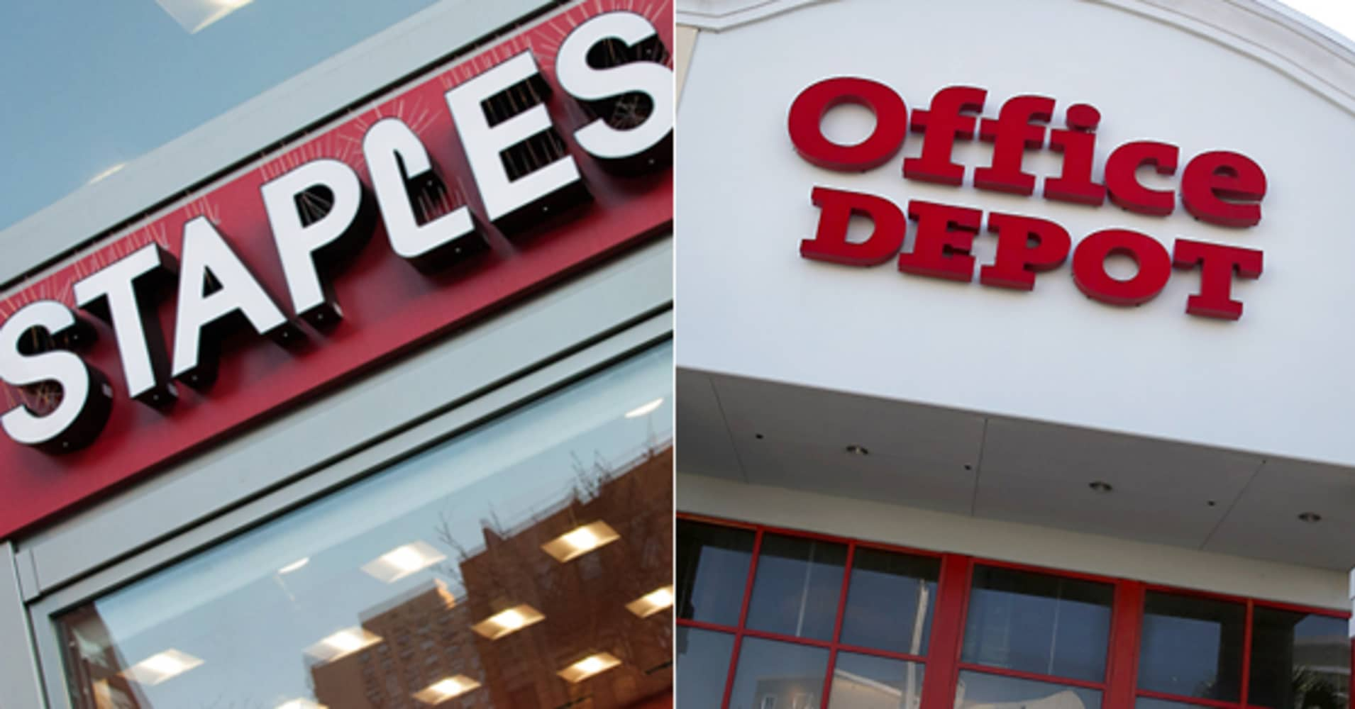 staples office depot tank on failed merger. Black Bedroom Furniture Sets. Home Design Ideas