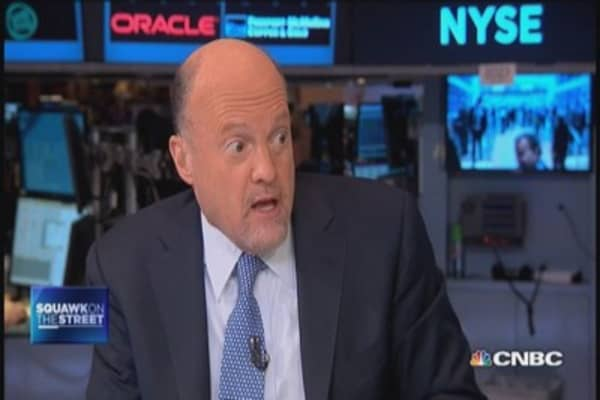 China's economic transformation: Cramer