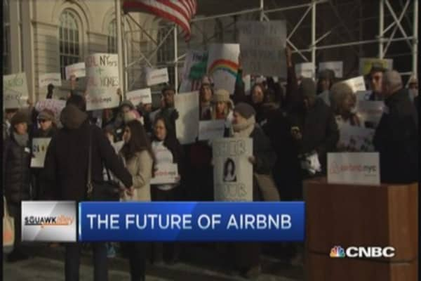 Fate of Airbnb in NYC