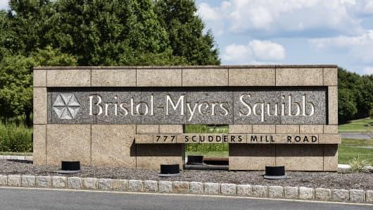 Bristol-Myers Squibb R&D headquarters.