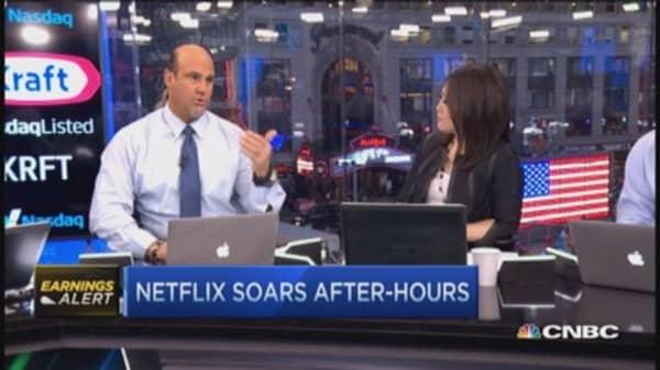 Netflix's boffo beat