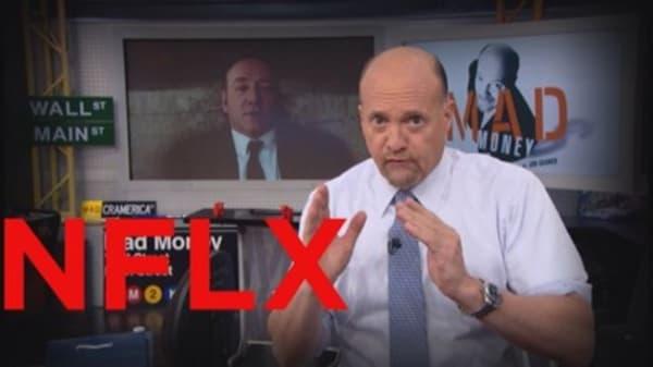 Cramer on Netflix after the big news